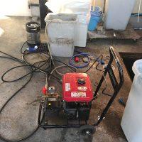 掛川市 店舗厨房排水詰まり修理