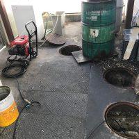島田市扇町 排水高圧洗浄作業