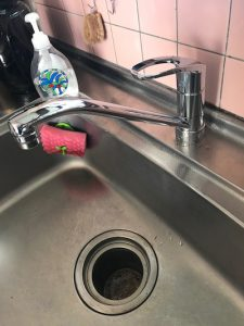 静岡市 台所蛇口水漏れ修理