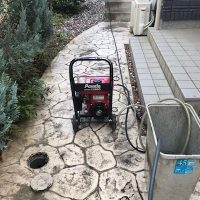 藤枝市藤岡 高圧洗浄作業