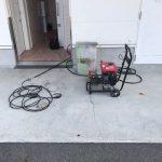 掛川市大池 高圧洗浄作業