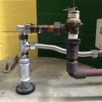 富士市 給湯管水漏れ修理