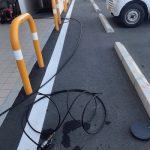 袋井市泉町 高圧洗浄作業