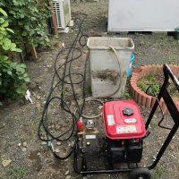 島田市船木 高圧洗浄作業