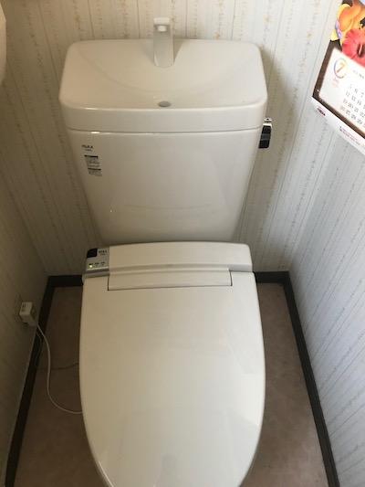 掛川市成滝 トイレ交換工事