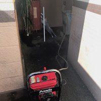 掛川市北門 高圧洗浄作業