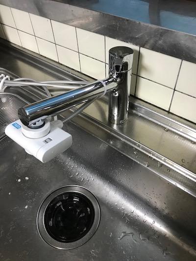 島田市 台所蛇口水漏れ修理