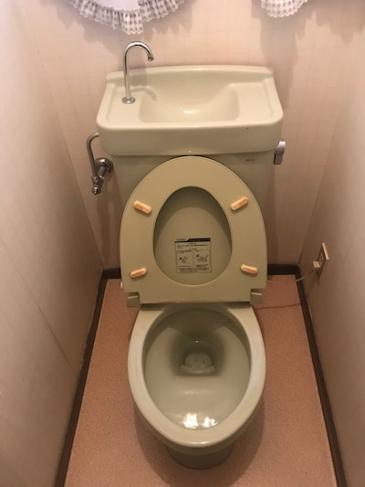 藤枝市 洋式トイレ水漏れ修理