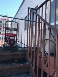 富士市 店舗排水詰まり修理