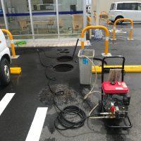 静岡市葵区千代田 高圧洗浄作業