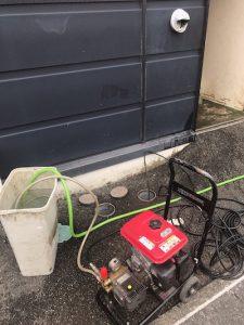 袋井市 店舗排水詰まり修理