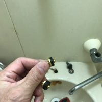 菊川市 浴室蛇口水漏れ修理