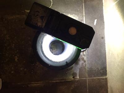 島田市 中河町商業施設のトイレの排水