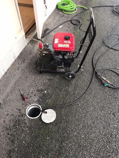 藤枝市志太  高圧洗浄作業