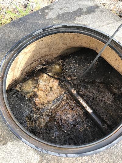 菊川市堀之内 高圧洗浄作業