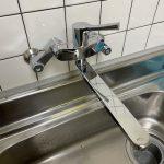 掛川市 台所蛇口水漏れ修理