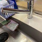 焼津市 台所蛇口水漏れ修理