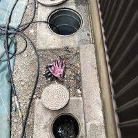 藤枝市志田 高圧洗浄作業