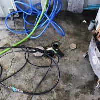 静岡市駿河区有明町 高圧洗浄作業