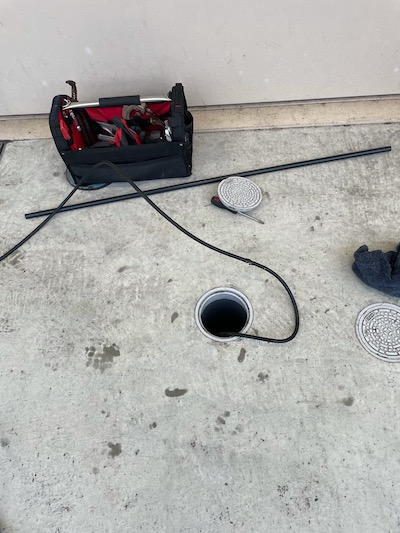 静岡市清水区北脇  高圧洗浄作業