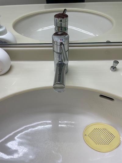 静岡市 手洗い蛇口水漏れ修理