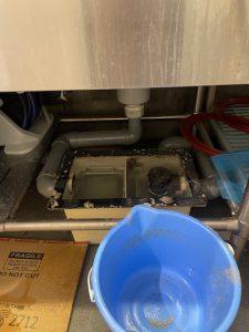 静岡市葵区安東 高圧洗浄作業