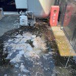 島田市稲荷 高圧洗浄作業