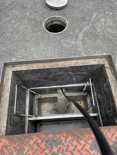 静岡市清水区長崎  高圧洗浄作業